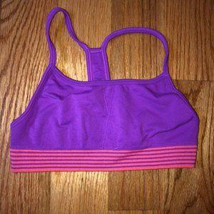 Athleta girl sports bra size medium 8-10